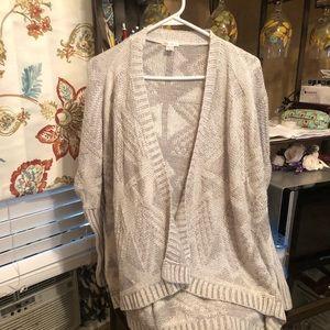 3 for $13.00 Exhilaration Sweater jacket